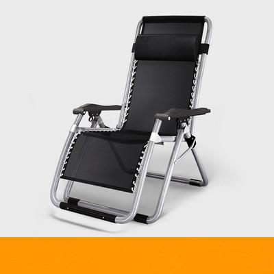 未使用 リクライニングチェア 折り畳み椅子メッシュ布 通気性耐久性よい アウトドア用品 休憩ベッド 枕付き オフィス野外休憩