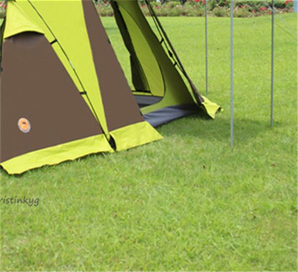 アウトドア用品 新品 人気テント!高機能テント 3秒設営 ワンタッチテント防風 防塵 防水防虫 UVカット通気性耐久性よい 3-4人用_画像7