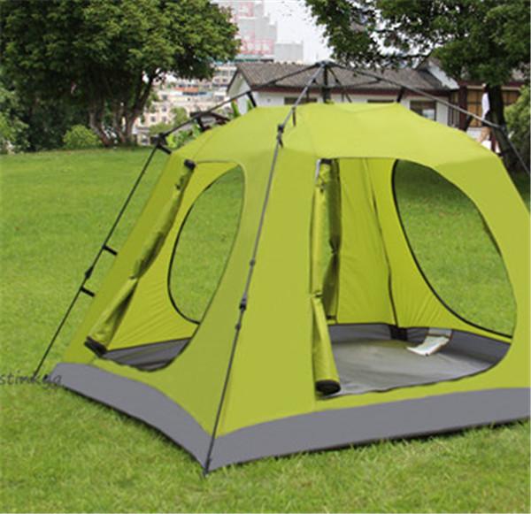 アウトドア用品 新品 人気テント!高機能テント 3秒設営 ワンタッチテント防風 防塵 防水防虫 UVカット通気性耐久性よい 3-4人用_画像2