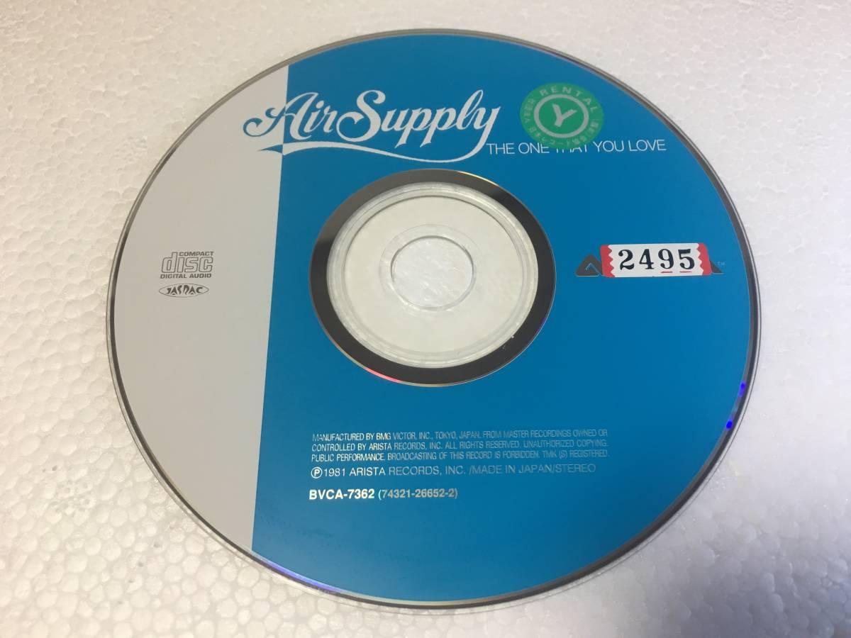 ●R1-2 レンタル落ち Air Supply / The One That You Love CDのみ ● エア・サプライ シーサイド・ラヴ 送料185円~ 新着_画像1