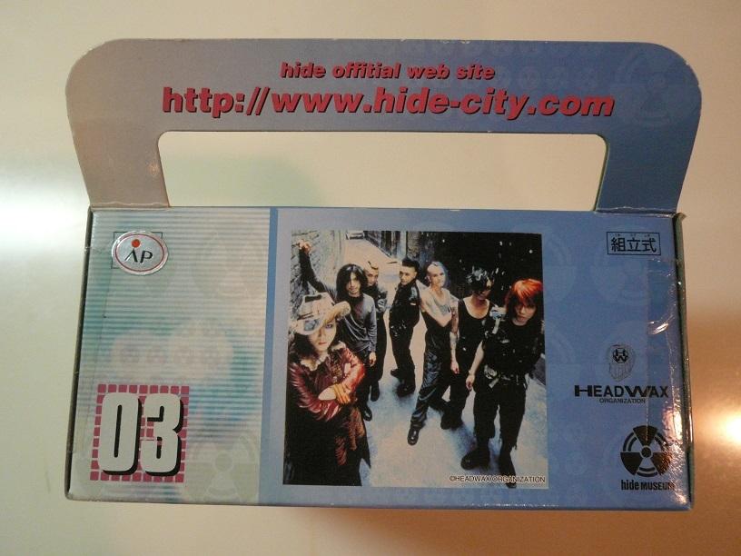 即決☆非売品・プライズ品☆バンプレスト hide (X Japan) ~hide with Spread Beaver~ PLAY BOX (プレイボックス) No.03 新品_画像5