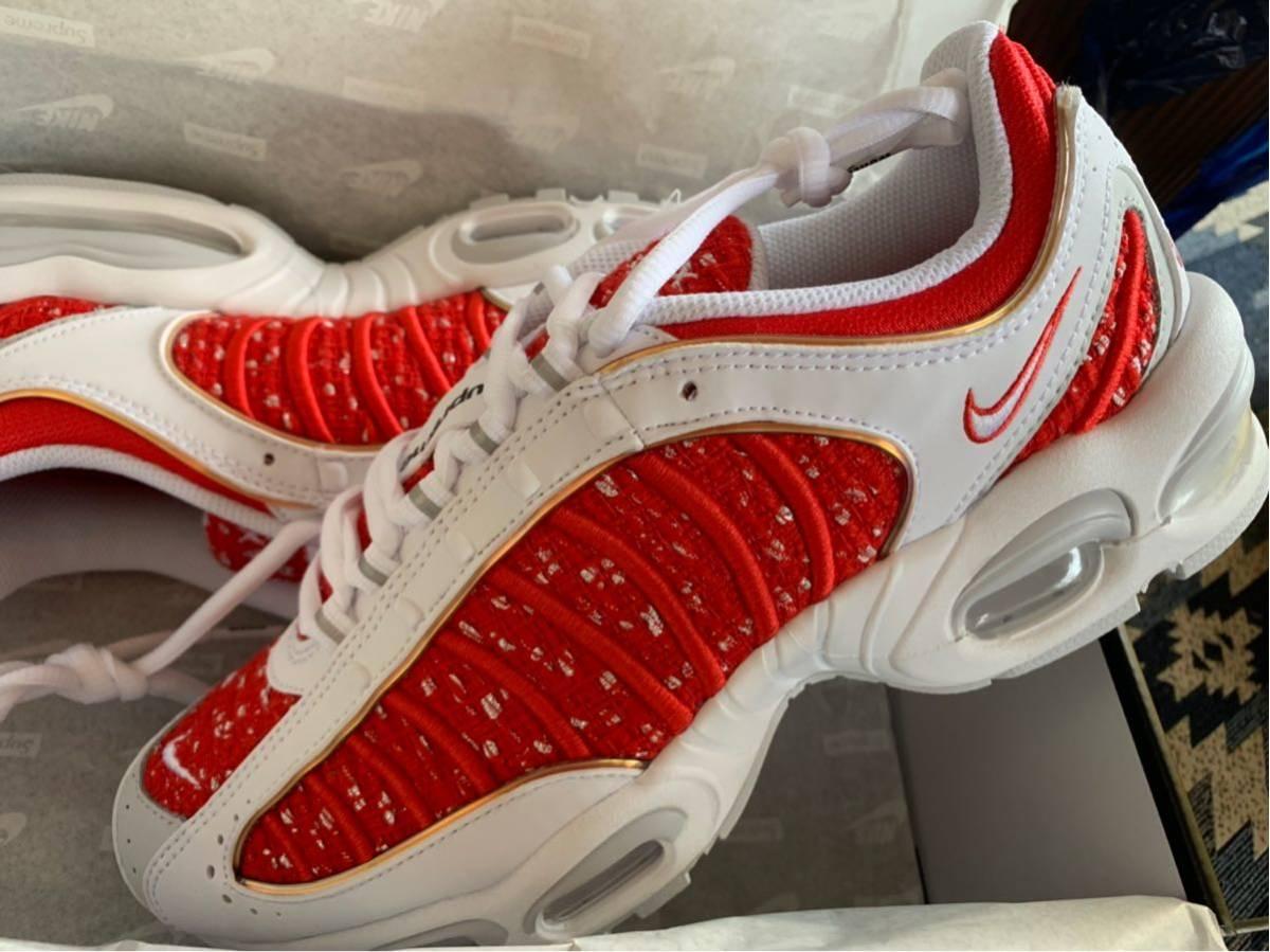 SNKRS当選品 【新品未使用】 Supreme Nike airmax tailwind4 27cm_画像7