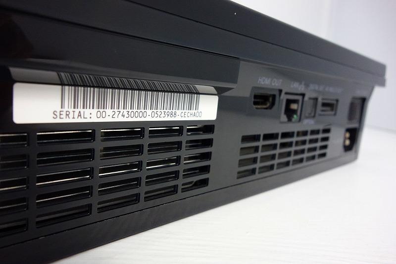【動作確認済】PS3 本体 初期型 CECHA00 PS2遊べるモデル★純正コントローラー、新品HDMIケーブル付★すぐ遊べるセット★d1_画像6