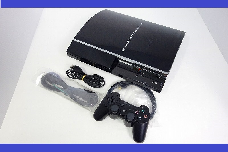 【動作確認済】PS3 本体 初期型 CECHA00 PS2遊べるモデル★純正コントローラー、新品HDMIケーブル付★すぐ遊べるセット★d2