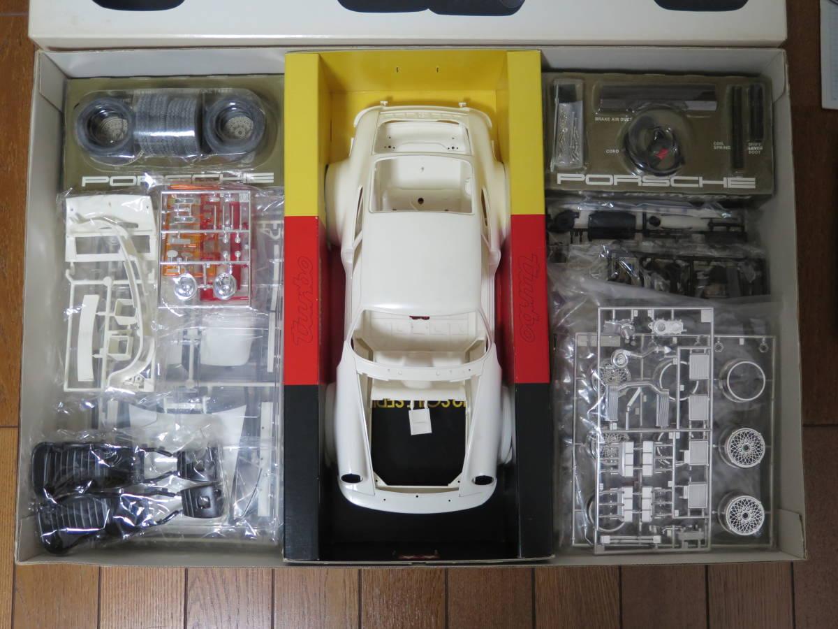 ★タミヤ 1/12 ポルシェ ターボ RSR 934レーシング 【未開封・絶版品】イエガーマイスター_画像4