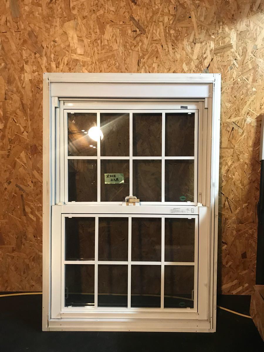 展示品 LIXILサッシ 窓 小窓 上げ下げ 新日軽製 アリッツアルミサッシ 2重窓 2