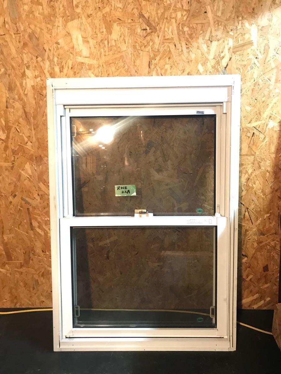 展示品 LIXILサッシ 窓 小窓 上げ下げ 新日軽製 アリッツアルミサッシ 2重窓 2_画像2