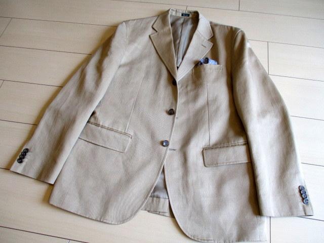 J.CREWの麻綿ブレンドのジャケットです