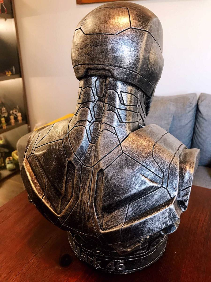 アベンジャーズ フィギュア アイアンマン 胸像 36*25*18cm 重:3.5kg as_画像2