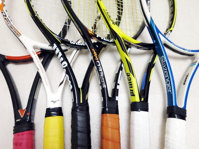 【送料込み】硬式テニスラケット6本セットNO3 中古品_画像2