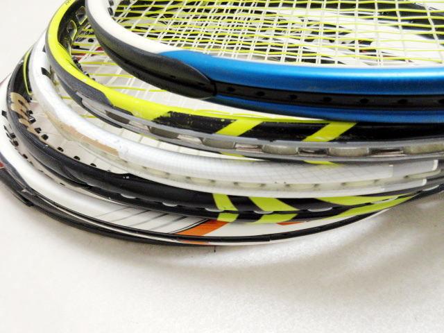 【送料込み】硬式テニスラケット6本セットNO3 中古品_画像3