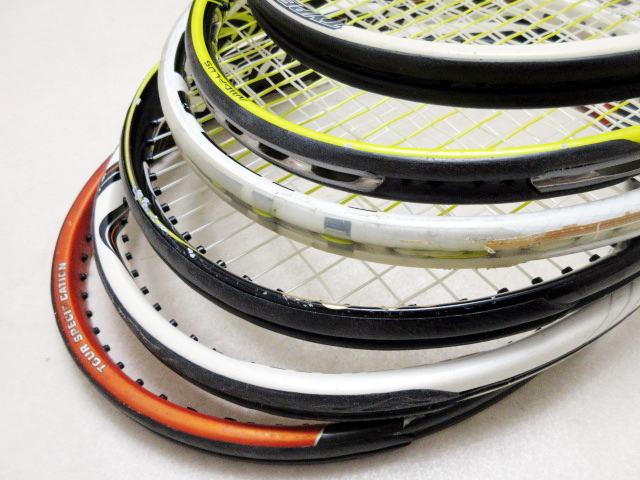 【送料込み】硬式テニスラケット6本セットNO3 中古品_画像4