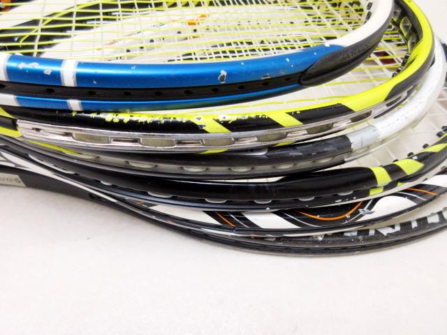 【送料込み】硬式テニスラケット6本セットNO3 中古品_画像5