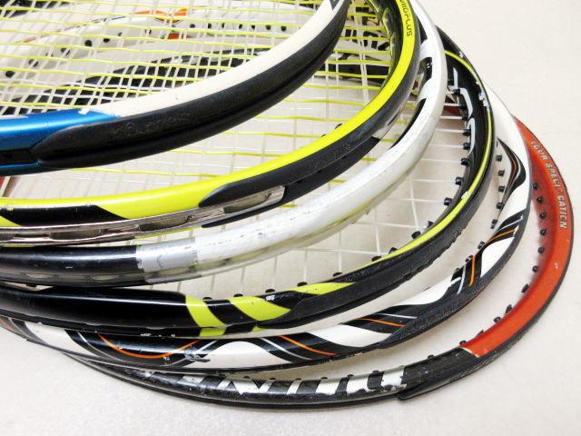 【送料込み】硬式テニスラケット6本セットNO3 中古品_画像6