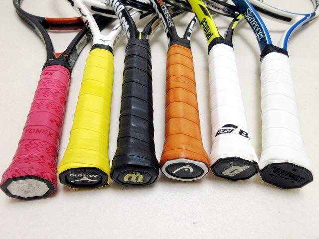 【送料込み】硬式テニスラケット6本セットNO3 中古品_画像8