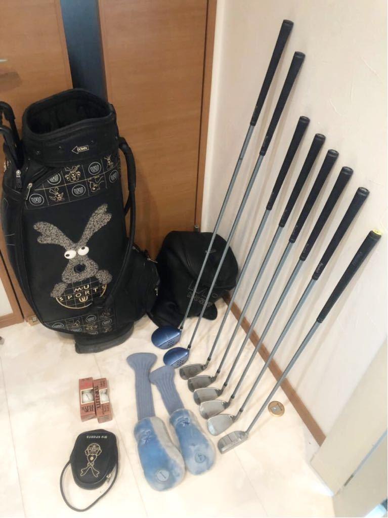送料無料 レディースゴルフクラブ セット ブリジストン パラディーゾ バッグ ウエサコ キャスター付優しい設計 初心者~中級者_画像6