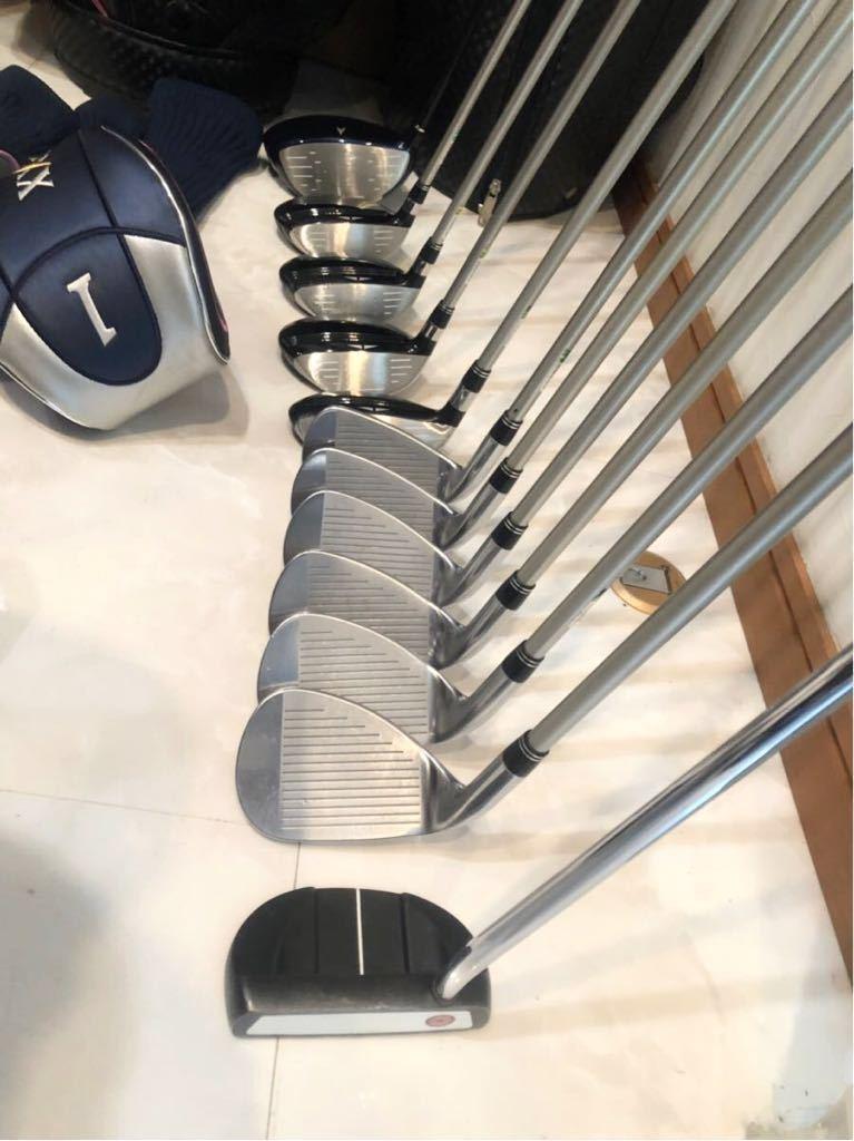 高級 超豪華 美品 3~4回のみ使用 レディースゴルフクラブ 本格フルセット ブリジストン ファイズ ゼクシオ 優しい 初心者~上級者_画像8