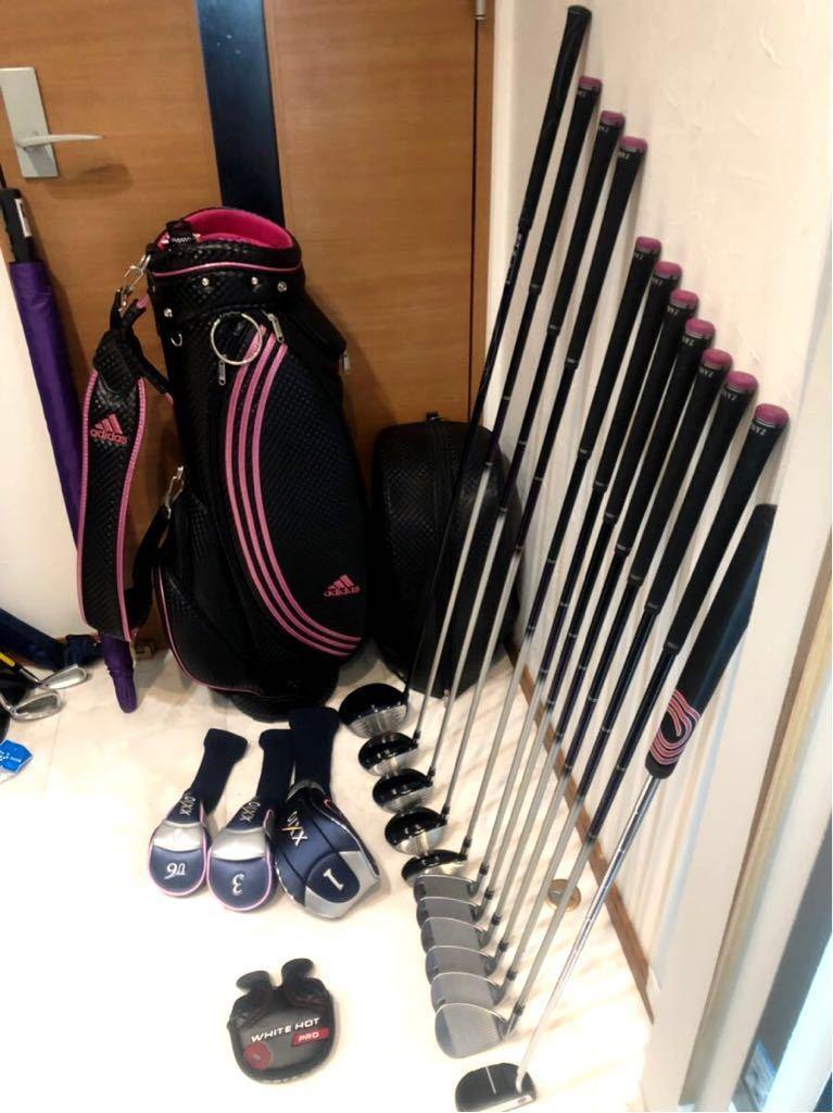 高級 超豪華 美品 3~4回のみ使用 レディースゴルフクラブ 本格フルセット ブリジストン ファイズ ゼクシオ 優しい 初心者~上級者_画像5