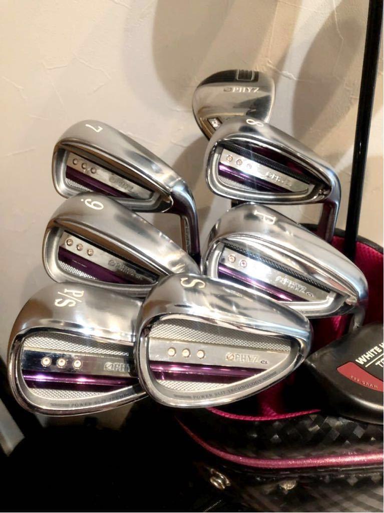 高級 超豪華 美品 3~4回のみ使用 レディースゴルフクラブ 本格フルセット ブリジストン ファイズ ゼクシオ 優しい 初心者~上級者_画像4