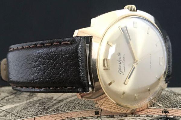極美品☆グラスヒュッテ☆アンティーク 自動巻き メンズ腕時計 Cal.75_画像5