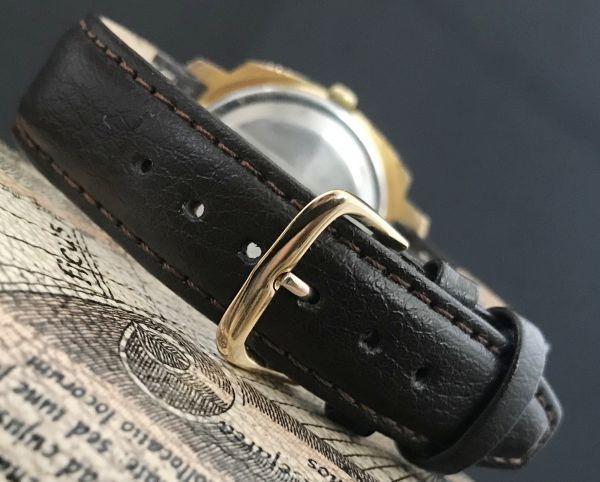 極美品☆グラスヒュッテ☆アンティーク 自動巻き メンズ腕時計 Cal.75_画像7