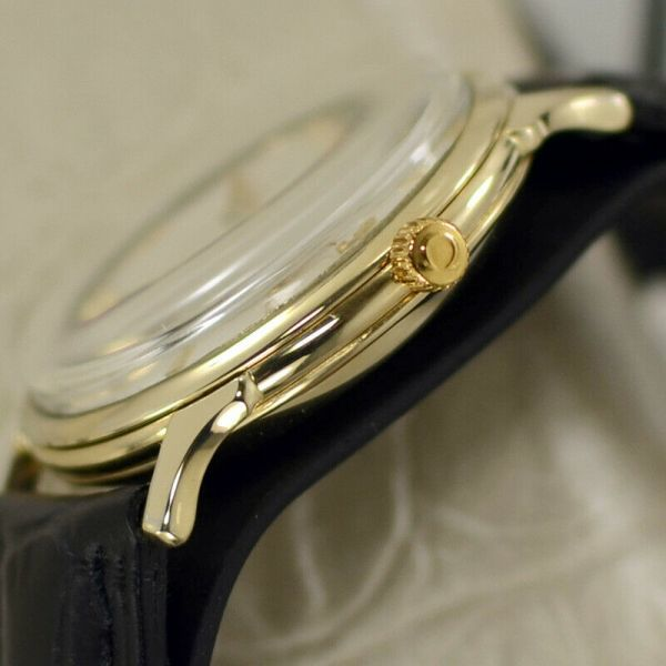 【オメガ☆Cal.344☆スモールセコンド】ヴィンテージ アンティーク 14金張り バンパー式 自動巻き メンズ腕時計【新品仕上げ☆動作保証】_画像6