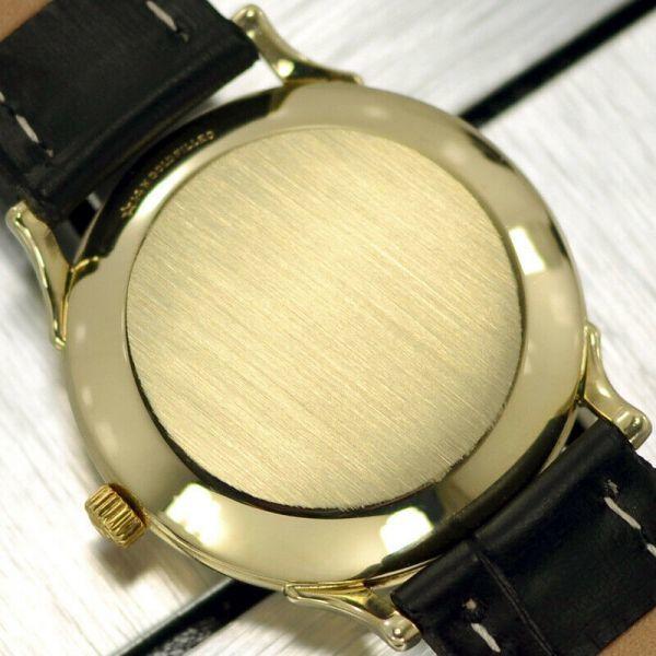 【オメガ☆Cal.344☆スモールセコンド】ヴィンテージ アンティーク 14金張り バンパー式 自動巻き メンズ腕時計【新品仕上げ☆動作保証】_画像8