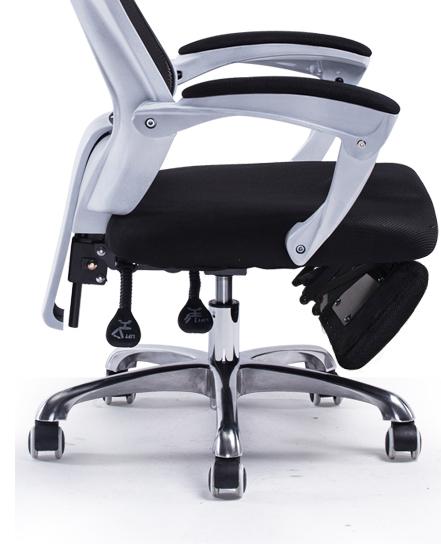 超人気☆ 爆売り! 勉強用椅子/長居椅子/公椅子/オフィスチェア 家庭用パソコンの椅子 書房 実験室革張り デスクチェア 油圧昇降イス mv26_画像3