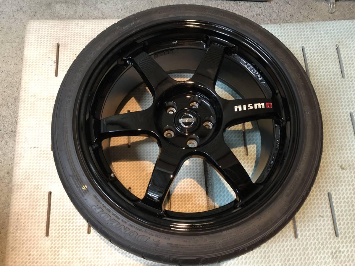 R35 GT-R NISMO ニスモ 純正 フロントホイール 極美品 未使用純正タイヤ付き