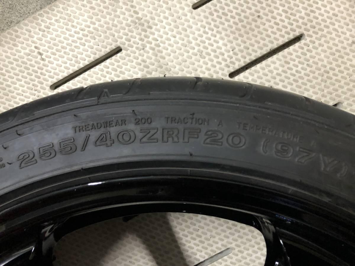 R35 GT-R NISMO ニスモ 純正 フロントホイール 極美品 未使用純正タイヤ付き_画像7