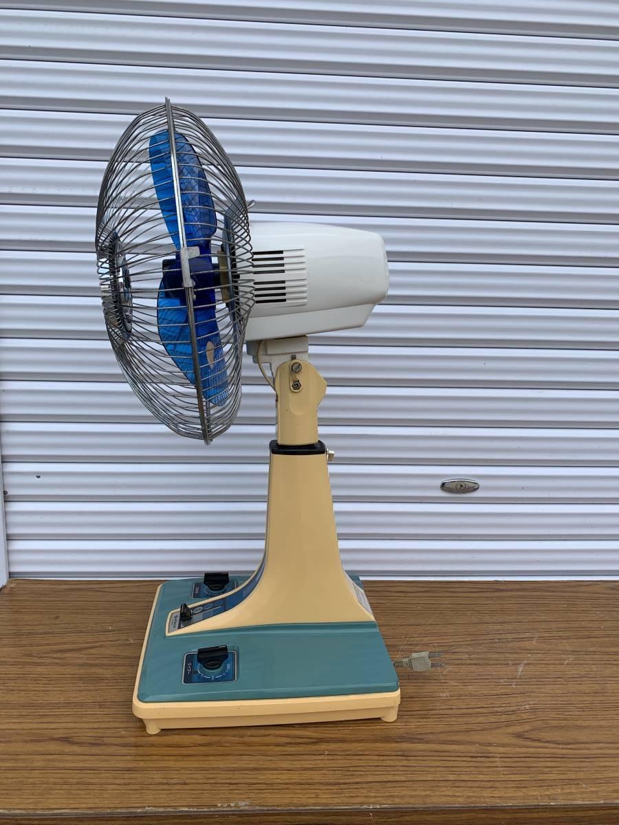 昭和レトロ 日立 HITACHI アンティーク 扇風機 H-30FL 動作現状品 _画像2