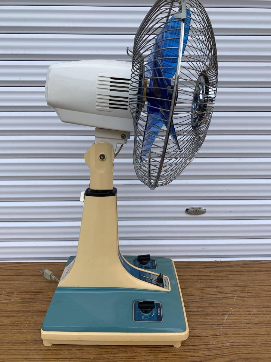 昭和レトロ 日立 HITACHI アンティーク 扇風機 H-30FL 動作現状品 _画像4