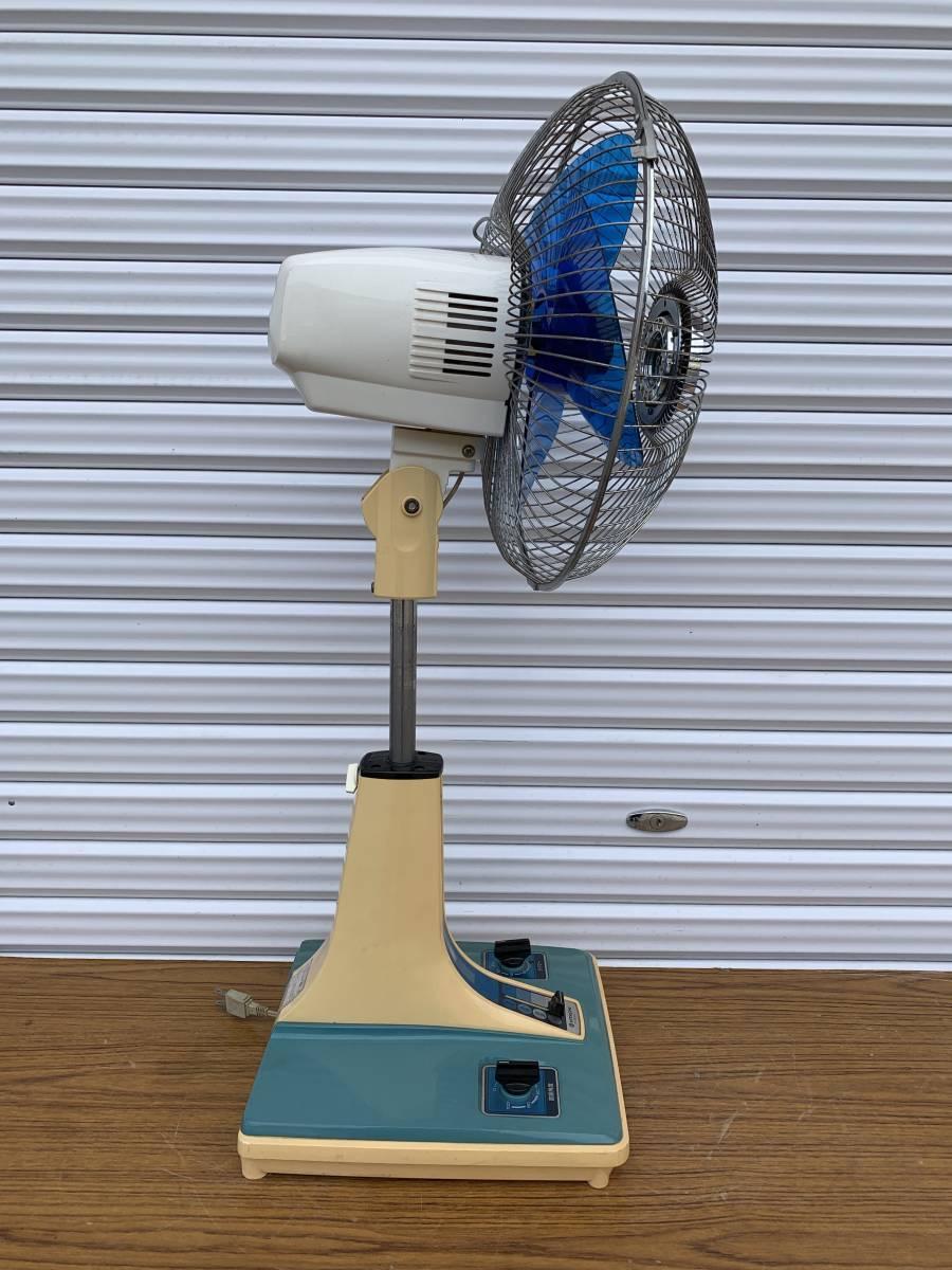 昭和レトロ 日立 HITACHI アンティーク 扇風機 H-30FL 動作現状品 _画像5
