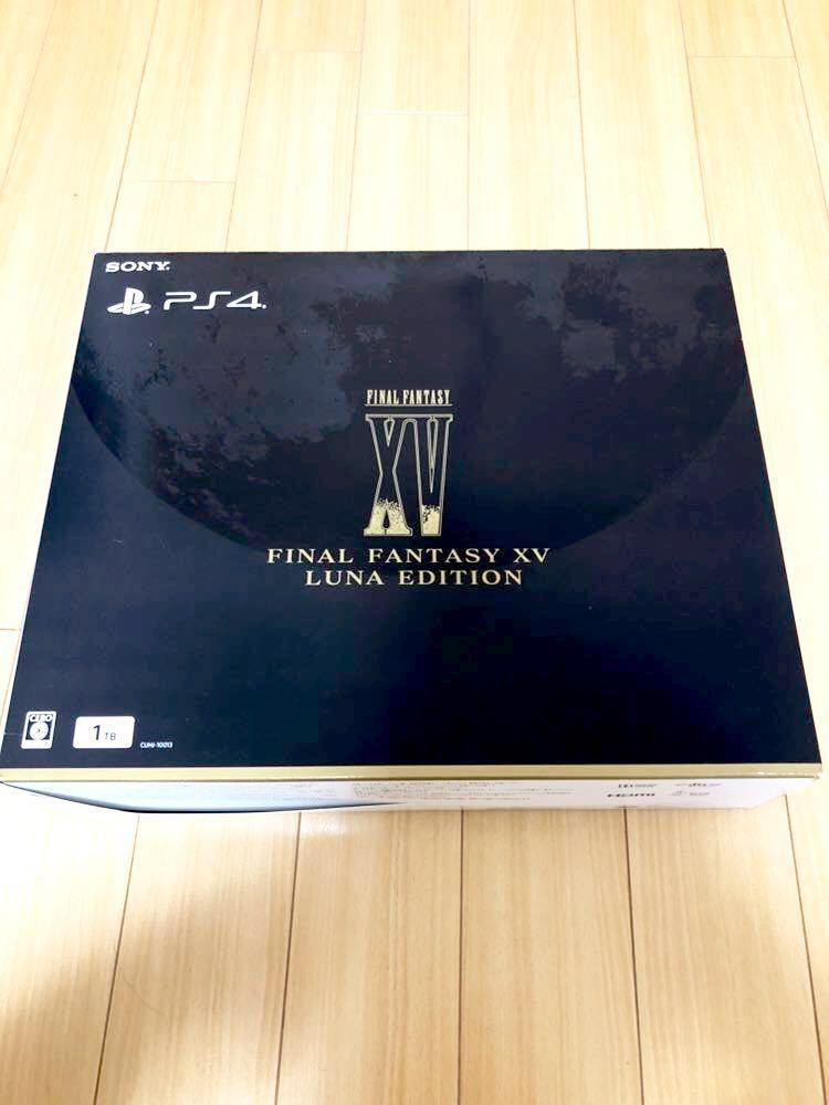 【中古美品】PS4 FINAL FANTASY XV LUNA EDITION +【初回新品】レッド・デッド・リデンプション2 【即決で送料無料】_画像2