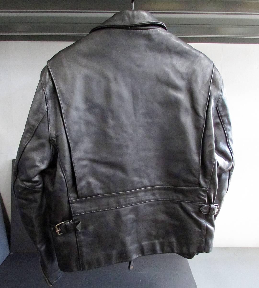 ★Harley Davidson USA Screamin Eagle Club Leather Fringe Biker Jacket 38_画像2
