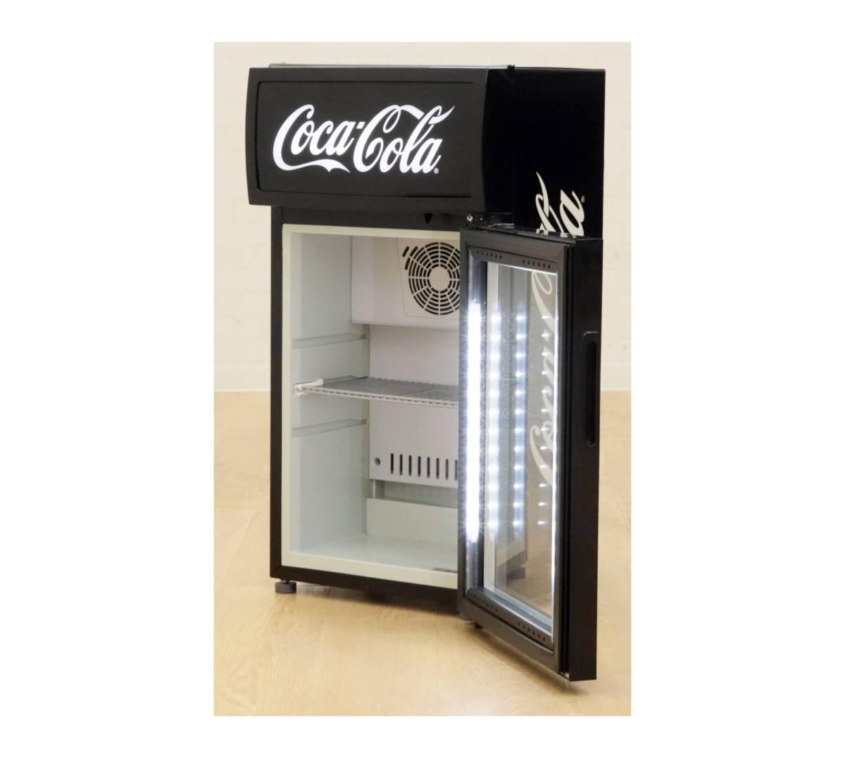 D Q051814 美品 Haier ハイアール Haier ハイアール 冷蔵ショーケース JR-CC25B 内容積25L _画像3