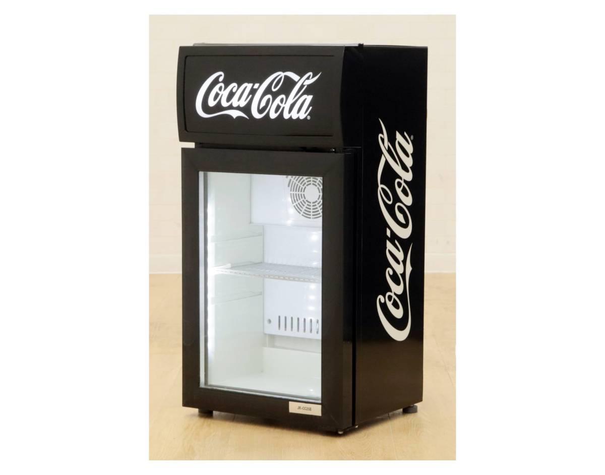 D Q051814 美品 Haier ハイアール Haier ハイアール 冷蔵ショーケース JR-CC25B 内容積25L