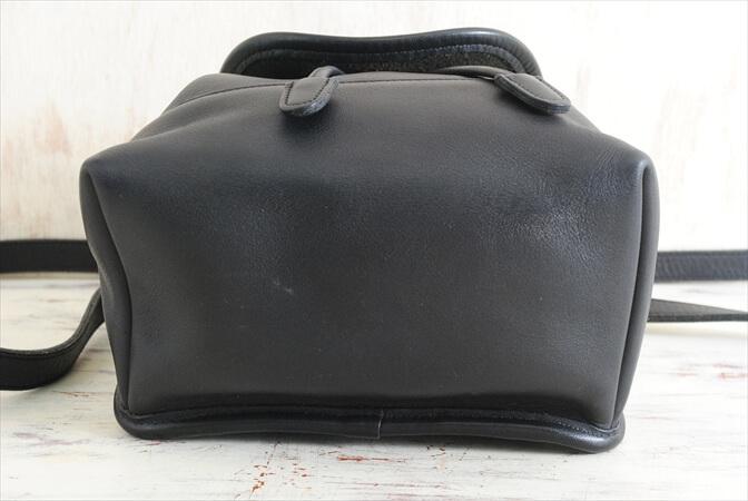 39efeb8b5494 USA製 COACH オールドコーチ レザー リュック バックパック 本革 ブラック 黒色 レディース メンズ コーチ
