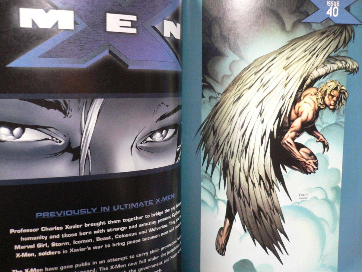 ★≪MARVEL ULTIMATE X-MEN/アルティメット エックスメン 8≫★≪アメコミ マーヴェルコミックス≫★_画像2