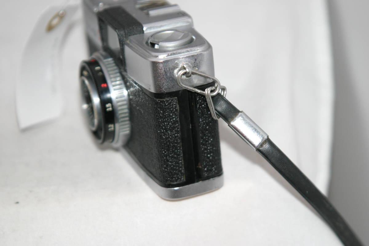 オリンパス ペンS PEN-S 1:2.8 f=3cm 整備済 モルト張替済 ストラップ付_画像4