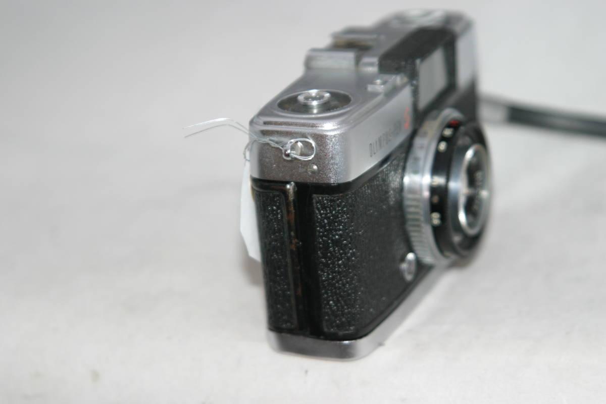 オリンパス ペンS PEN-S 1:2.8 f=3cm 整備済 モルト張替済 ストラップ付_画像5