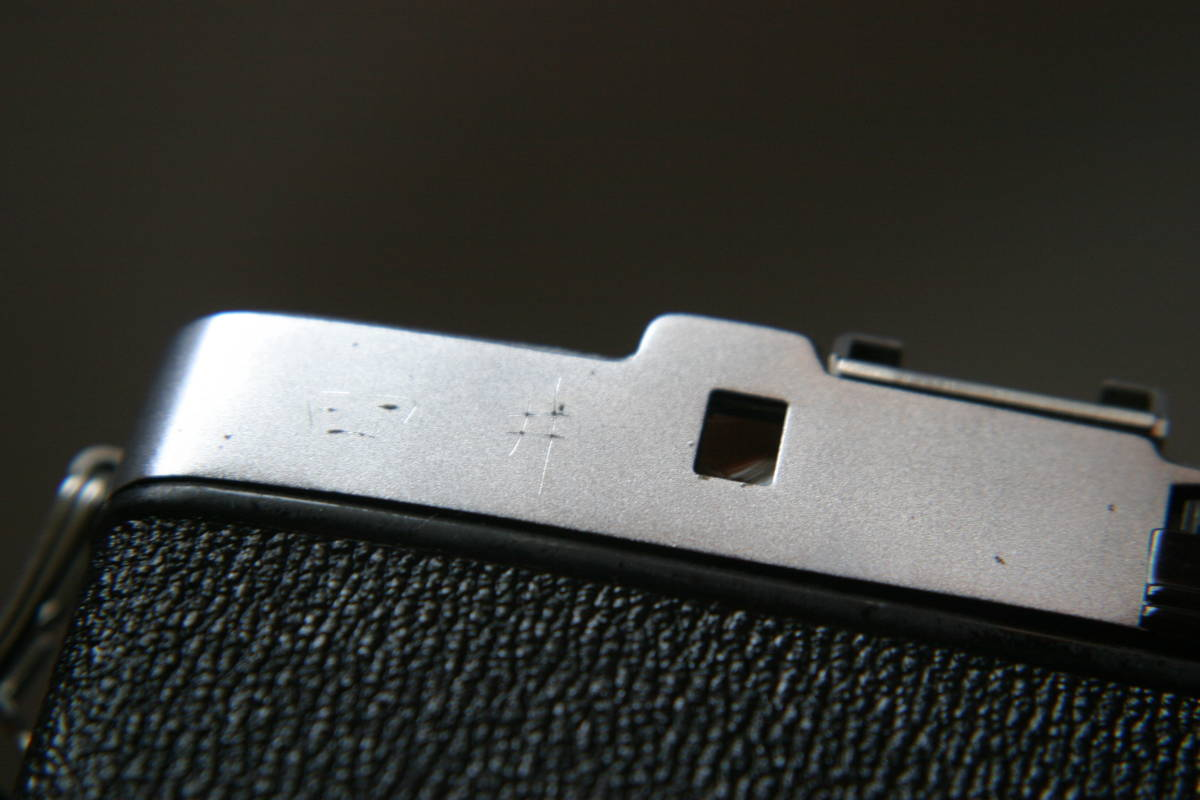 オリンパス ペンS PEN-S 1:2.8 f=3cm 整備済 モルト張替済 ストラップ付_画像9
