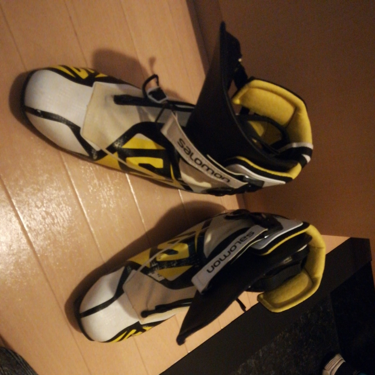 クロスカントリースキー OGASAKA c2 sk2 SALOMON のブーツつき 身長170~180センチの人用_画像4