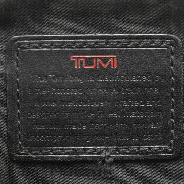 1円◇美品 TUMI トゥミ 26111DH ビジネスバッグ ハンドバッグ 書類収納 PC収納 かばん キャンバス ブラック◇_画像9