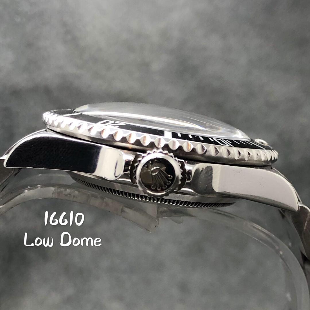R38 Rolex Submariner low 風防 16610 16800 ロウドーム ロレックス サブマリーナ_画像5