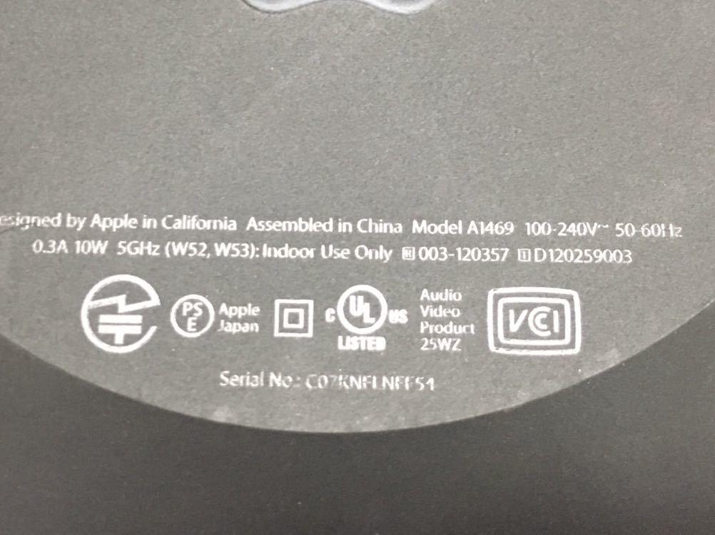 Apple TV (第 3 世代) A1469_画像8