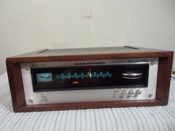 ◆ Marantz Model 104 マランツ FM/AMチューナー USED