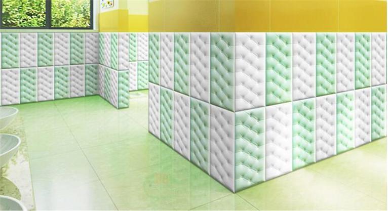 新品 30枚set DIY 3D 壁紙 クッションブリック 壁紙シール 模様 柄 ウォールステッカー 簡単リフォーム _画像4