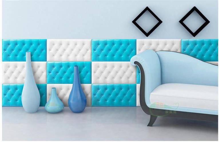新品 30枚set DIY 3D 壁紙 クッションブリック 壁紙シール 模様 柄 ウォールステッカー 簡単リフォーム _画像5