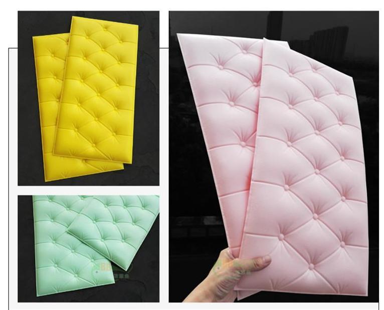 新品 30枚set DIY 3D 壁紙 クッションブリック 壁紙シール 模様 柄 ウォールステッカー 簡単リフォーム _画像3